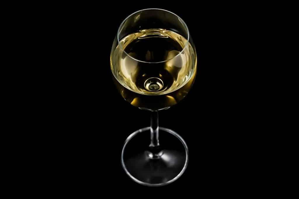 Glas Wein