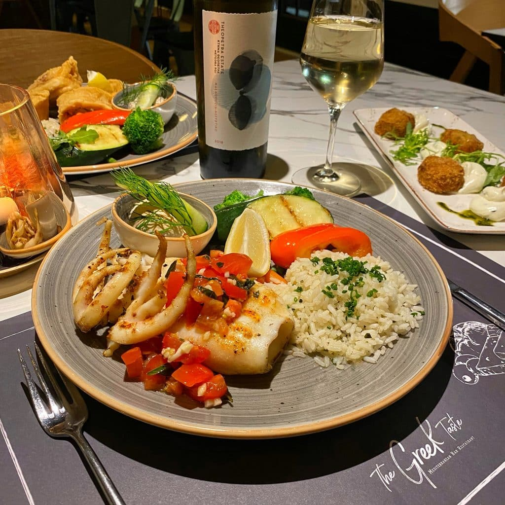 The Greek Taste Calamari gegrillt scaled
